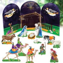My Pop-Out Nativity Set
