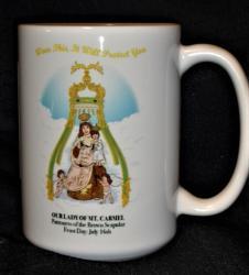 Our Lady of Mt. Carmel Mug