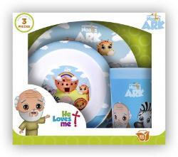 Noah's Ark 3 Piece Dish Set