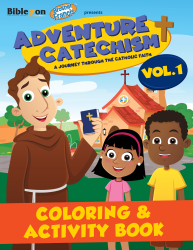 Adventure Catechism Volume 1 - Coloring and Activity Book