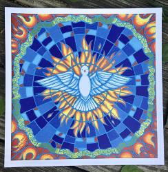 Gifts of the Holy Spirit - original art print