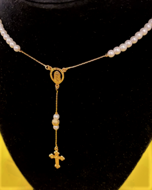 rosary-blue