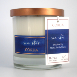 Sea Star Saint Candle | Mary, Stella Maris
