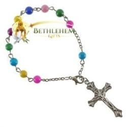 Fashion Rosary Bracelet