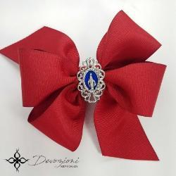 Virgin Mary Girl's Grosgrain Double Bow