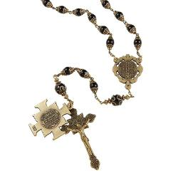 Creed Saint Benedict Vintage Rosary