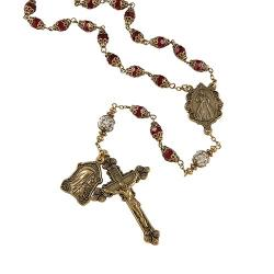 Creed Divine Mercy Vintage Rosary