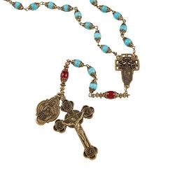 Creed Our Lady of Guadalupe Vintage Rosary