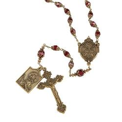 Creed Sacred Heart Vintage Rosary