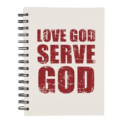 Love God Serve God journal
