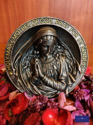 The Madonna Polyester Resin Table Decor