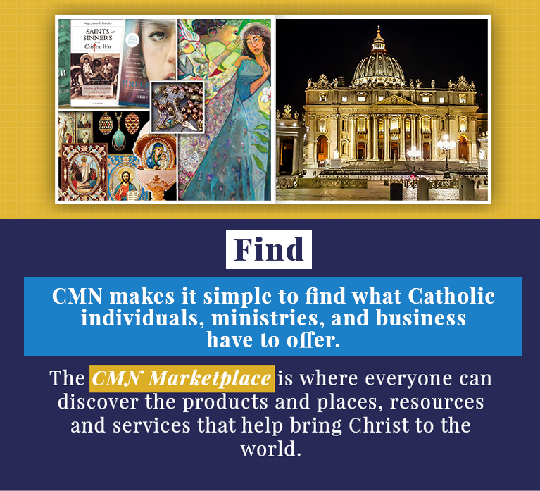 Catholic Marketing Banner Marketplace Mobile