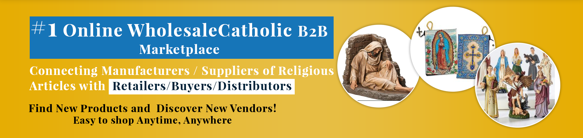Catholic Marketing Banner Marketplace