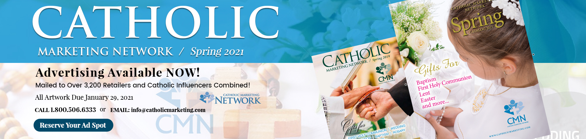 Catholic Marketing Banner Marketplace