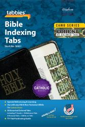 Camo Bible Indexing Tabs - Forest
