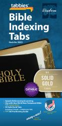 Classic Bible Indexing Tab - Solid Gold