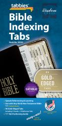Classic Bible Indexing Tab - Gold-Edged